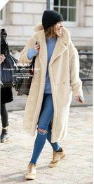 kokon langarm lose Rabatt Hohe Qualität Europa und die Vereinigten Staaten 2019 Herbst und Winter neue Frauen Kaschmir langärmelige einfarbig langen Mantel Wollmantel