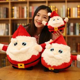 Santa claus stuff spielzeug online-Weihnachtsgeschenke neue Santa Claus Elch Kitz Stofftier Puppe