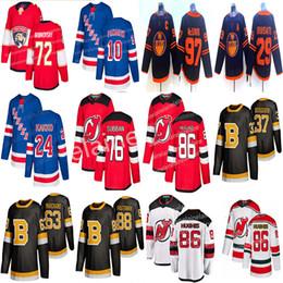 Camisas de hóquei nhl on-line-New York Rangers Hockey Jerseys 24 Kaapo Kakko 10 Artemi Panarin Devils 76 P. K. Subban 86 jerseys Jack Hughes hóquei