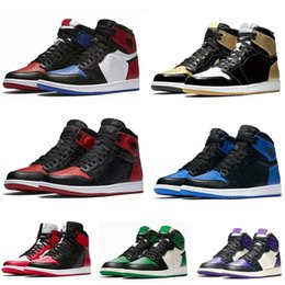 d80d5a46935 High OG Mens Basketball Shoes 1 Banned Bred Toe Shadow Gold Top 3 Best  Quality Designer Men Women Athletics Sneakers Sports Shoes Trainers best  high cut ...