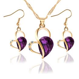 8 Fotos Compra Online Joyería de oro australiana-Conjunto de joyas de dama  de honor de la 345b207893f