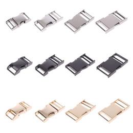 Fibbia a scatto laterale ad arco in metallo per cinghie per zaino con fettuccia 14mm 19mm 25mm 32mm da