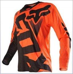 Traje de ciclismo para hombre online-skinsuit el ciclismo de montaña cuesta abajo traje Jersey manga larga camiseta hombres moto verano traje de carreras de motos
