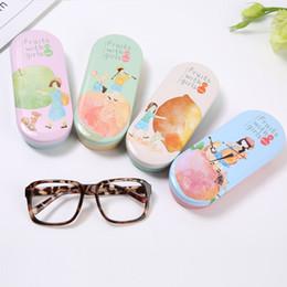 2019 caso delle vetri delle ragazze Caso di occhiali di limone del fumetto mela Custodia di occhiali per occhiali da sole carino protettiva per occhiali da sole carino di alta qualità sconti caso delle vetri delle ragazze