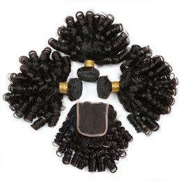 2019 fumi haarverlängerungen Peruanisches Fumi lockiges Haar 31 Bundle 10-24 Zoll natürliche schwarze nicht remy Menschenhaarverlängerungen Freies Verschiffen günstig fumi haarverlängerungen