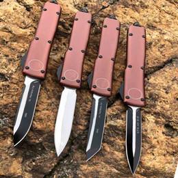 2019 tac force knife 2020 caliente venta automática MT 85 UTX cuchillo de doble acción táctica cuchillo Micro Tecnología de carburo de interruptor del cuchillo de bolsillo de Aviación mano de aluminio