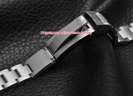 hebillas de la banda de reloj Rebajas Venta caliente 21mm Sea-Dweller Bandas de reloj Correa Pulsera de acero inoxidable Hebilla Despliegue de seguridad cierre plegable para 44 mm 116660 Relojes