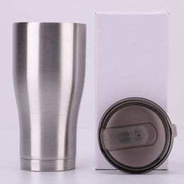 772ac5a2f78 walls coffee cup Promo Codes - stainless steel curving tumblers 30OZ 20OZ double  wall vacuum waist