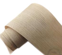 2 pçs / lote L: 2.5 Metros de Largura: 150mm de Espessura: 0.25mm carvalho Vermelho casca de madeira folheado de madeira móveis de madeira falante de Fornecedores de folheado vermelho