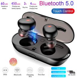 Fone de ouvido Bluetooth 5.0 Touch TWS fone de ouvido sem fio Mini fones de ouvido fones de ouvido estéreo de Fornecedores de xbox original