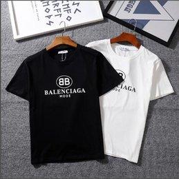 2019 camisas baratas do branco das crianças t 24 cores Men T shirt Marca BB gc MODO logotipo Pares Letra Impressa T-shirt de Manga Curta Homens estudantes de Hip Hop Street Style mulheres Tops Camiseta