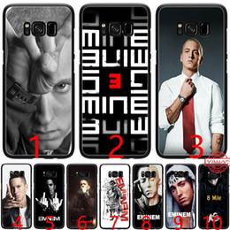 rapper fälle Rabatt Hip Hop Rapper Eminem rap Weiche Silikon Schwarz TPU Telefonkasten für Samsung A3 A5 2016 2017 A6 Plus 2018
