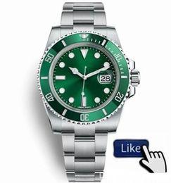 Nuevo reloj de pulsera Orologio di Lusso Glide Lock Correa para hombres Reloj automático nuevo Relojes verdes 116610LV Orologio Automatico Orologi da Uomo desde fabricantes