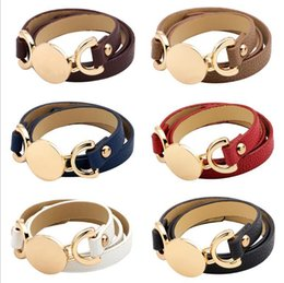 6 cores novo estilo pulseira de couro monograma mais quente venda na moda com disco em branco pulseira de couro vários envoltório de