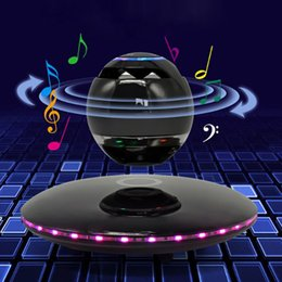 Intelligente Bluetooth-Lautsprecher Kreative Maglev-Ladetechnologie 360-Surround-Bass-Touch-Steuerung HD-Freisprechanrufaudios Glamour-Autobiografie von Fabrikanten