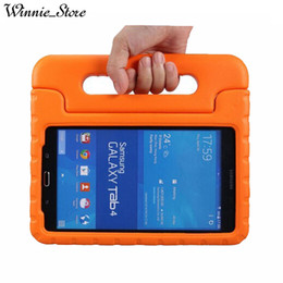"""Kinder dicker schaumstoff online-Foam Case Kids Safe Robustes Proof Dicker Griff Ständer Case für Samsung Galaxy Tab4 7.0 """"T230 Tab Ein T280 EVA-Cover"""