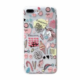 Canada De luxe Antichoc Doux TPU Cas Pour Iphone XS MAX XR X 10 8 7 6 6 S Plus Fleur Flamingo Papillon Licorne De Mode Élégant Gel Téléphone Couvre supplier butterfly gel case Offre