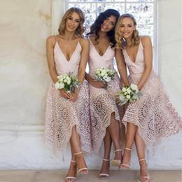 Matrimonio Sulla Spiaggia Economico : Sconto abito rosa per il matrimonio in spiaggia abito rosa