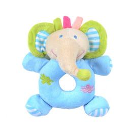 Giocattoli di peluche appena nati Baby Sonaglio Passeggino Animali di peluche Elefante Orso Cervo Giocattoli a fumetti per bambini da regali ginnastici fornitori