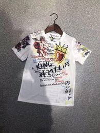 Canada vêtements de bébé garçon vêtements de fille de créateur vêtements pour enfants mode t-shirts à manches courtes t-shirts pour enfants T-shirt Designer pour Hommes 6T-16T L131 Offre