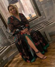 halter casual floral vestido hasta la rodilla Rebajas Verano de las mujeres Vestido gris Carta de tapas largas de la blusa de los vestidos de las señoras de manga corta Mujer ocasionales flojas del bolsillo de la camiseta de vestido