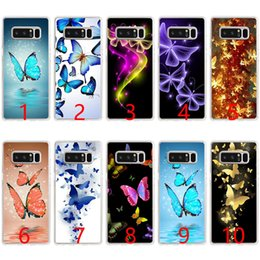 Casi di telefonini mosca online-Custodia per cellulare in silicone morbido fantasia elettronica Fly per Samsung Note 9 8 Edge S7 S8 S9 Plus Cover