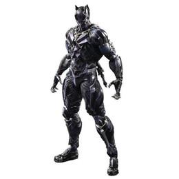 Deutschland New Play Arts Kai Marvel Avengers: Endgame die Black Panther Actionfigur Superheld T'Challa Modell Spielzeug Versorgung