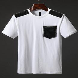 2019 рубашки поло 19SS мужские дизайнерские футболки горячие большие Ярды из чистого хлопка мода футболка натуральный удобный дизайнер рубашки поло Мужчины скидка рубашки поло