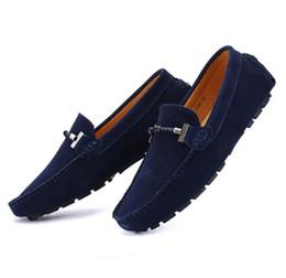 2020 zapatos de cuero sin cordones el ganado de alta calidad del ante de los zapatos casuales, todo el cuero sin cordón de gran tamaño del zapato informal suelas blandas zapatos del diseñador transpirables zapatos de cuero sin cordones baratos