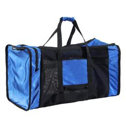 Мешок для купания онлайн-100L Открытый Водонепроницаемый Плавательные Сумки Mesh Duffle Gear Дайвинг Сумка для Подводного Плавания Пляж Пляж Оборудование Для Водного Спорта # 109581