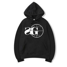 2019 chaqueta rompevientos forro extraíble Vsenfo francotirador sudadera con capucha de la cuadrilla de Kodak Negro Rap Hip Hop unisex sudadera con capucha fresca versión de calle Pullover Hoodies Hombres Mujeres