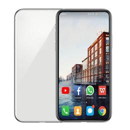 2019 celular de cor roxa Telefone Goophone 11p 5.8inch celulares Android Quad Core 1GB 16GB 3G WCDMA 13MP câmera Wi-Fi Desbloqueado