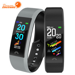 F6 смарт-браслет монитор сердечного ритма водонепроницаемый фитнес-трекер Bluetooth Watch Band для Android IOS женщины мужчины браслет supplier smart watch android ios от Поставщики смарт-часы android ios