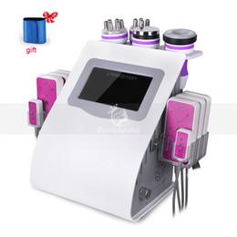 Levage de visage ultrasonique de cavitation de rf amincissant le système de corps de laser de Lipo formant la machine de réduction de cellulites ? partir de fabricateur