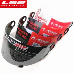 b6a60d5c LS2 FF358 Full Face motorcycle helmet visor Multi-coloroptional lens for ls2  FF396 392 black silver plated color gold glass