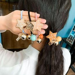 алмазные звезды Скидка Оголовье Yfashion девушки женщин Резинки ленты для волос Головной убор Простой Rope Diamond Crystal Star Бал волос