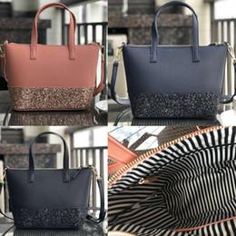 Argentina Diseñador de la marca nuevos bolsos con brillo Patchwork hombro brillante bolsos de compras cruzados mujeres de la PU bolso de mano con correa para el hombro cheap hobo handbags Suministro