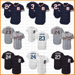 01b04953e Discount mlb jerseys - Detroit Tigers Baseball Jersey 23 Kirk Gibson 24  Miguel Cabrera 3 Alan