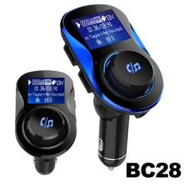 BC28 Wireless FM Modulator Autoradio Kits Freisprecheinrichtung Bluetooth FM Transmitter Dual USB Ladeunterstützung U Disk Mp3 Player Für Anruf Telefon von Fabrikanten