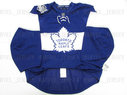 d5a571bd1 Cheap custom TORONTO MAPLE LEAFS 2017 CENTENNIAL CLASSIC JERSEY GOALIE CUT  58 stitch add any number any name Mens Hockey Jersey cheap toronto maple  leaf ...