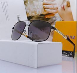 2019 óculos polarizados uv aviador Qualidade Do Vintage Óculos De Sol De Condução óculos de olho de gato Aviadores Homens Esportes Designer de Luxo Mens Óculos de Sol UV Polarizada óculos Com Caixa - óculos polarizados uv aviador barato
