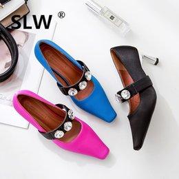 88a51348a7 2019 le scarpe in gomma delle donne coreane Scarpe estive cristallo tinta  unita tinta unita con