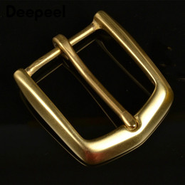 High Quality Solid Brass Men Belt Buckles Fashion Pin Buckles for Belt 38 39MM Men Women Jeans Accessories DIY Leather Craft KY774