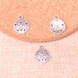 charm packs baby Rabatt 286pcs Antike-Splitter Seestern Charme-Anhänger DIY Halsketten-Armband-Armband-Entdeckungen 12mm