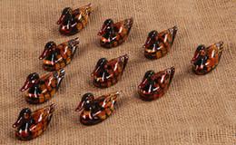 Mini-gabel löffel online-Mini 4,8 CM Essstäbchen Rack Samll Ente Essstäbchen Stehen Löffel Gabel Traditionellen Unregelmäßigen Stäbchen Halter Rack Rahmen