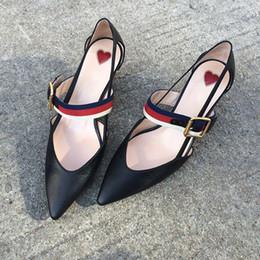 2019 stiletto schuhe zum verkauf Hot Sale-2019 Hot Sale Frau Spitz High Heels Schnalle Stiletto Ausschnitte Pumps Frauen Hochzeit Schuhe Dünne Ferse Für Kleid rabatt stiletto schuhe zum verkauf
