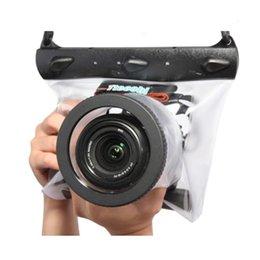 fuji fotocamera polaroid Sconti Tteoobl GQ-518m 20m Immersione Macchina fotografica Fotocamera Custodia Custodia Borsa sacchetto asciutto asciutto impermeabile per Canon Nikon DSLR SLR T191025