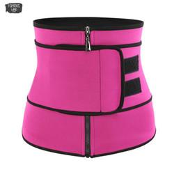 corsé rosa caliente más tamaño Rebajas Tamaño más talladora que adelgaza la cintura del abrigo Trainer Cincher del corsé de la aptitud Sweat Cinturón Faja Mujeres Fajas Fajas para hombre Sauna