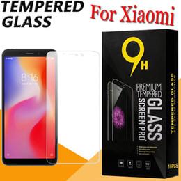 Protezione dello schermo in vetro temperato 9H Protezione della pellicola protettiva per Xiaomi Mi 9 SE 8 6 Plus 6X Note Mix Max 3 Pro F1 Play Go Have Retail Box da