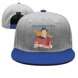 Canada Rage Against The Machine Evil Empire pour les hommes bleu snapback Hip Hop plain concevoir votre propre équipe chapeaux de la jeunesse supplier evil blue Offre